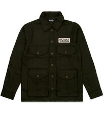 Men's UNDEFEATED U50 Jacket Olive Green Wool Blend size XL (T110) $133