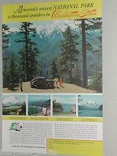 1941 Washington State Tourism ad, Olympic National Park