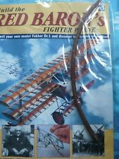 BUILD THE RED BARON'S FIGHTER PLANE FOKKER DR1  HACHETTE  ISSUE 95 NEW SEALED