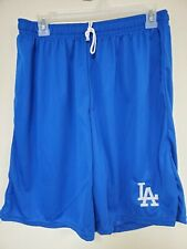 0724-1 Mens Majestic LOS ANGELES DODGERS Jersey Polyester SHORTS Royal New