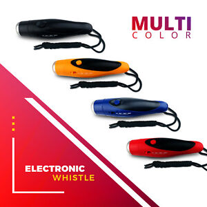 ✅Electronic Whistles for Referees, P.E. Teachers - 3 Tones Volume - Loud Whistle