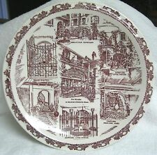 Collectible Ceramic Plate New Orleans Patios In The Vieux Carre
