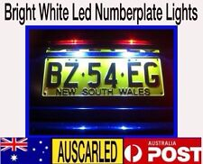 2x Subaru impreza Number Plate 6000k White SMD LED Exterior Light Bulb Globe