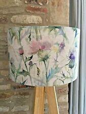 Handmade Cirsuin Lampshade-Voyage- Damson-Linen-Thistle