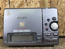 Sony Md Walkman Mz-R3 Minidisc Player/Recorder*Read*