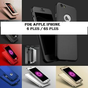 For iphone 6 Plus  / 6s Plus Case Cover 360 Luxury UltraThin Shockproof Hybrid
