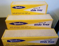 Lot Of 6 Yankee Universal Slide Trays Old Photography Stuff Universal 30, 36, 40
