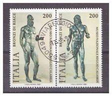 Francobolli della Repubblica italiana usati in bronzo