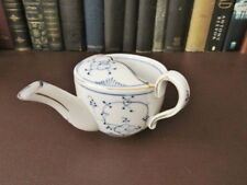 19th C German porcelain blue & white Invalid/Feeder Cup, Main Decorated