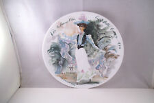 Henri D'Arceau Limoges France Women of the Century Collector Plate 1900