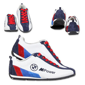 New BMW M Power Mens Racing Shoes Motorsport Sneakers HQ Embroidered Logos