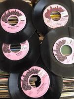 Tenor Saw Sister Nancy Reggae Dancehall Jamaica Techniques 45s Vinyl