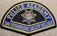 CA San Bernardino Valley College California Police Academy Patch