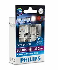Philips Back Lámpara Led S25 (P21W) 6000K 380lm 12V 4.3W X-Treme Ultinon 12898x2
