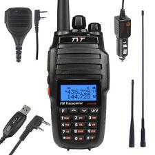 TYT UV8000E 136-174/400-520Mhz Cross-Band 3600mAh 10W HP FM Ham Radio +Speaker