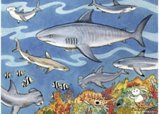 Ravensburger Sea Of Sharks 60 Piece Jigsaw Puzzle