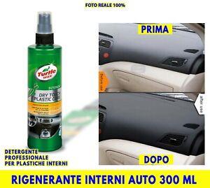 Rinnova Plastiche Auto Cruscotto Interni Plastica Nero Detergente Professionale
