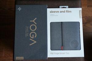Lenovo Yoga Smart Tab 64GB, Wi-Fi, 10.1 in - Iron Gray bundle with Sleeve & film