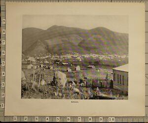 1899 BOER WAR ERA SOUTH AFRICA PRINT BARBERTON