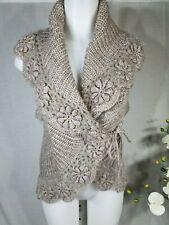 Italian Women's Crochet Vest - One Size