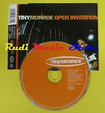 CD Singolo TINY MONROE Open Invitation UK LAUREL 1996 no lp mc dvd (S15)