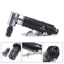 """90 Degree Air Angle Die Grinder Pneumatic Grinding Machine with 1/4""""&1/8""""Collet"""