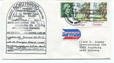 1988 USCGC Northwind WAGB-282 Naval Research Polar Arctic Cover SIGNED