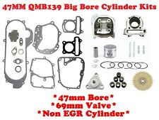 80cc BIG BORE KIT FOR SCOOTERS WITH 50cc, 60cc,QMB139 MOTORS WITH 69mm VALVES