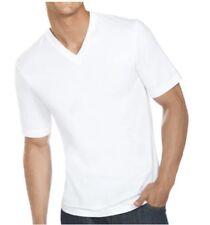 Jockey V-Neck T-Shirts Slim Fit White 3 Pack Men's Size Small Undershirts Cotton