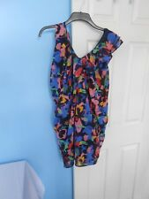 STUNNING H&M  MULTICOLORED WOMAN'S DRESS SIZE UK: 10  EUR: 36 TAG £14.99