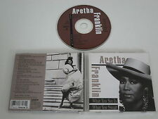Aretha Franklin/What You See Is What You Sweat (Arista ARCD - 8628) CD Album