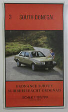1985 old vintage OS Ordnance Survey of Ireland half-inch map 3 South Donegal New