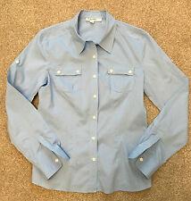 Para mujer Baby Blue de Calvin Klein aventurero Verano Safari Camiseta S Pequeño Reino Unido 8 - 10