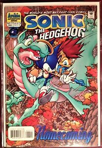 SONIC The HEDGEHOG Comic Book #77 December 1999 TALES GREAT WAR Bag Board MINT