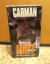CARMAN Christian RIOT movie NEW videos VHS Righteous Invasion of Truth pop CCM