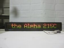 Telecorp  Programmable Alpha 215C Color LED Electronic Message Sign (No Remote)
