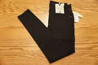 "NWT WOMEN' S DEMOCRACY JEANS High Rise Ankle Skimmer Black ""Ab""technology"