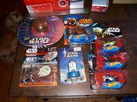 Star Wars Galoob Micro Machines &Hot Wheels Vehicle Lot & Stamper. Various Years