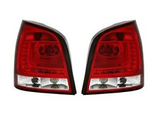 VW POLO 9N3 2005-2009 RED WHITE VT346 SET REAR LIGHTS TAIL LED