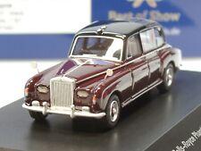 """BOS Rolls Royce Phantom VI """"Queen Elizabeth"""", schwarz/ dunkelrot - 87340 - 1:87"""