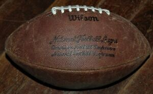 Pete Rozelle model vintage Wilson leather NFL football NEW LACES AND BLADDER