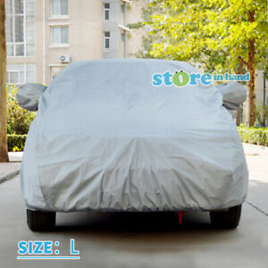 New Car Cover UV Resistance Dust Scratch Dirt Protection Size L