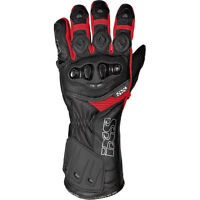 IXS RS-200 Leather Motorcycle Gloves Red Men's