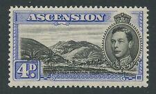 Ascension Island SG42c 1940 4d black& ultramarine P13.5