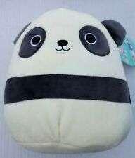 Squishmallows Panda Bear Stanley Stuffed Animal Plush 8 inch Kellytoy NWT