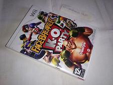 FaceBreaker K.O. Party NUEVO PRECINTADO Español Wii