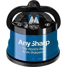 Knife Sharpener AnySharp Classic BLUE World's Best 100% Genuine