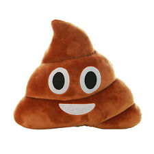 35cm Home Poop Shaped Message Icon EmojI POO Emoticon Soft Pad Cushion Pillow