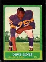 1963 TOPPS #44 DEACON JONES GOOD+ (RC) LA RAMS HOF *SBA8794