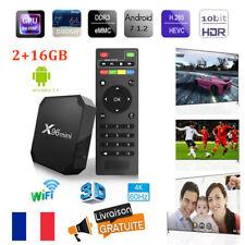 3D 4K X96 Mini Amlogic S905W 4-Core Android7.1 Smart Internet TV Box 2+16GB WIFI